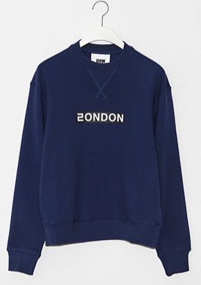 Nohant Newkidz노앙뉴키즈 LOVE CITY LONDON SWEATSHIRT NAVY