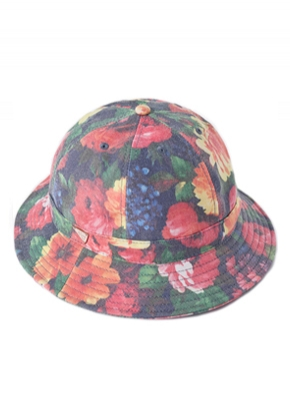 HATER헤이터 Washed Flower Bucket Hat