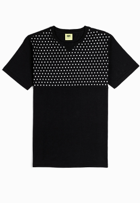 ICNY Double Dot T-shirt Black