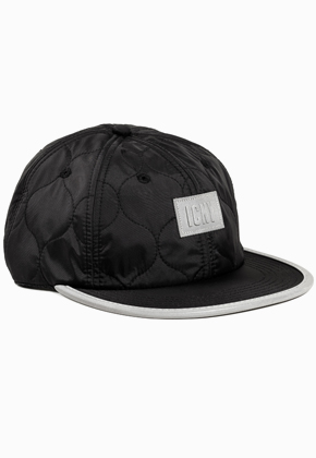 ICNY Shelter 6-Panel Ball Cap (Black)