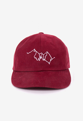 Blanc Soir블랑스와르 Mountain Washing Cap Burgundy