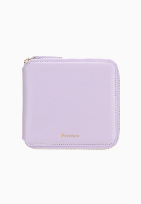 Fennec페넥 Zipper Wallet Light Violet