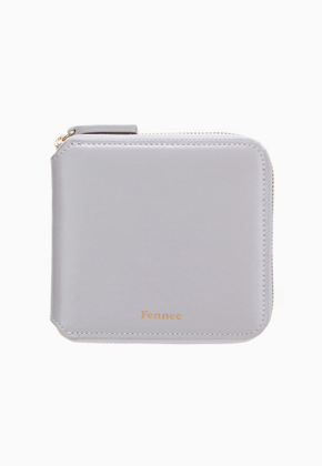 Fennec페넥 Zipper Wallet Light Grey