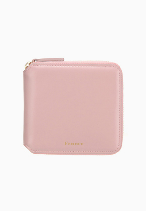 Fennec페넥 Zipper Wallet Light Pink