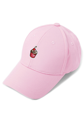 HATER헤이터 Cream Cake Embroidery Cap Pink