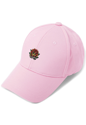 HATER헤이터 Rose Embroidery Cap Pink
