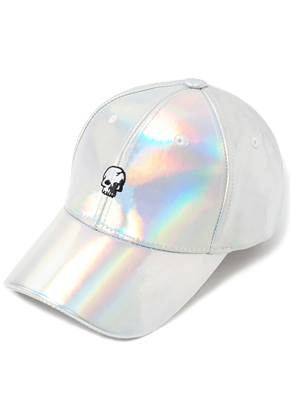 HATER헤이터 Skull Embroidery Cap Shiny Graphic