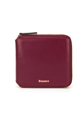 Fennec페넥 Zipper Wallet Marsala