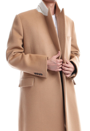 Blindness블라인드니스 TIimeless Picked Lapel Coat Beige