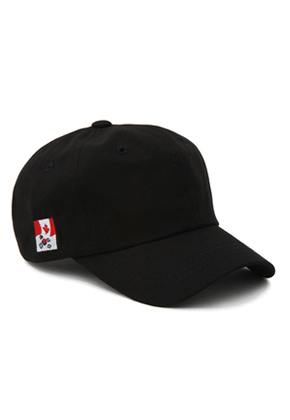 Pound파운드 Flag Cap Black