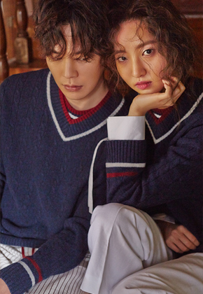 Sewing Boundaries소윙바운더리스 H/ DOUBLE NECK KNIT