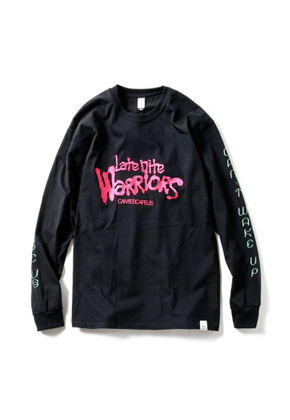 Magic Stick매직스틱 Nightmare Long Sleeve T-shirt Black