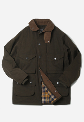 FRIZMWORKS프리즘웍스 Royal Hunting Field Jacket Dark olive