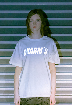 Charm's참스 Scotch Logo T-shirts White