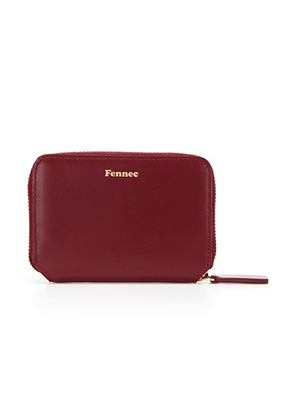 Fennec페넥 Mini Pocket Wallet Marsala