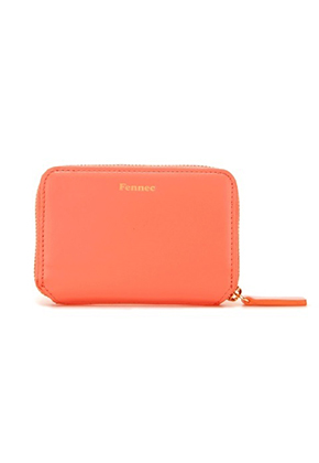 Fennec페넥 Mini Pocket Wallet Coral