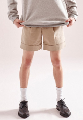 NOHANT노앙 CHINO SHORTS BEIGE 10% SALE
