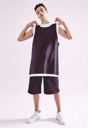NOHANT노앙 LAYERED SLEEVELESS BLACK
