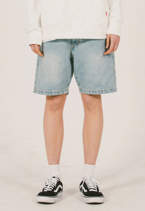 WKNDRS위캔더스 Denim Shorts L.DENIM