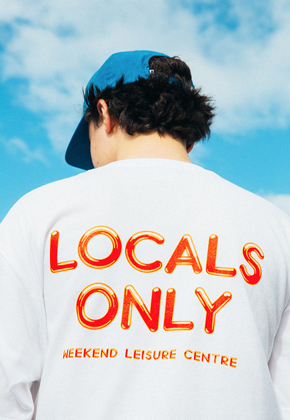 WKNDRS위캔더스 Locals Only T-shirts White