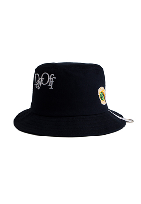 Romantic Crown로맨틱크라운 Day off bucket hat_Navy