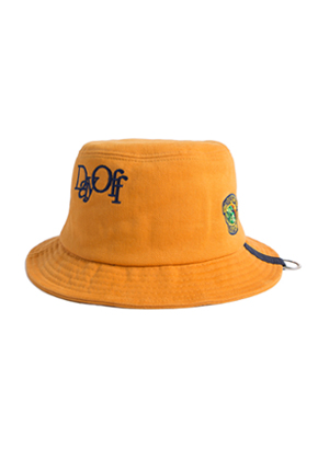 Romantic Crown로맨틱크라운 Day off bucket hat_Mustard