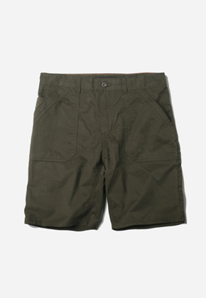 FRIZMWORKS프리즘웍스 Fluffy Fatigue Short Olive