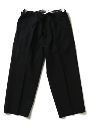 Ballute발루트 WIDE STRING PANTS (BALCK)