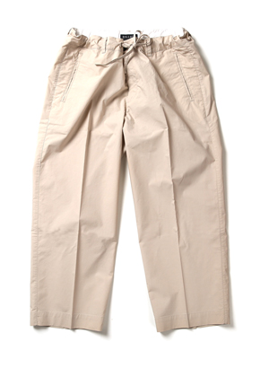 Ballute발루트 WIDE STRING PANTS (BEIGI)