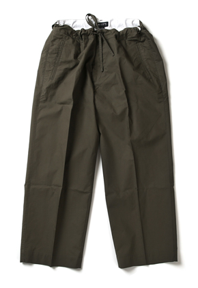Ballute발루트 WIDE STRING PANTS (OLIVE)