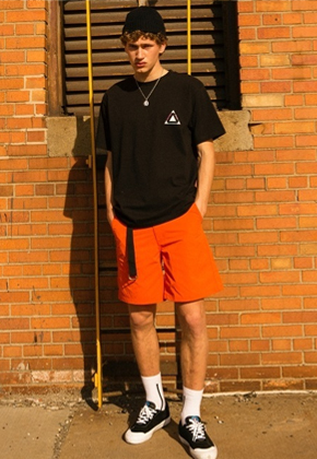 Anderssonbell앤더슨벨 앤더슨벨 Andersson Bell DUBLIN CAMP SHORTS apa181m (Orange)