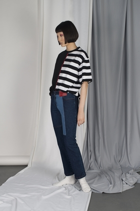 Nonwashed논워시드 RECONSTRUCTED DENIM