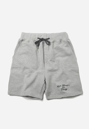 FRIZMWORKS프리즘웍스 Cursive RSRD short pants _ gray