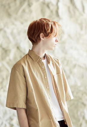 Voiebit브아빗 V400 CUTTING SHIRTSBEIGE