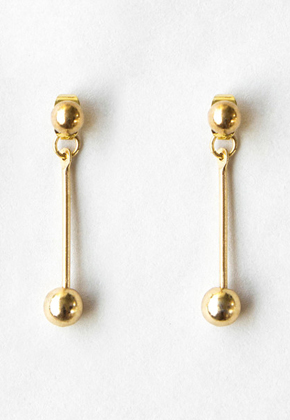 Common Muse커먼뮤즈 PERLE DROP EARRINGS GOLD