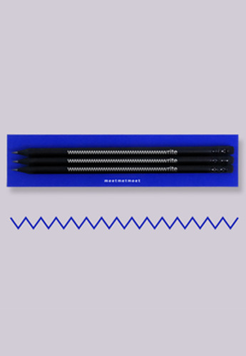 MeetMetMeet밋맷밋 The write pencil 3ea