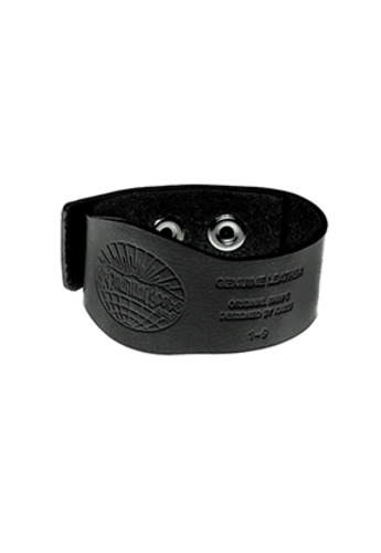 MPQ엠피큐 엠피큐 MPQTRIPLE BUTTON LEATHER BRACELET Black