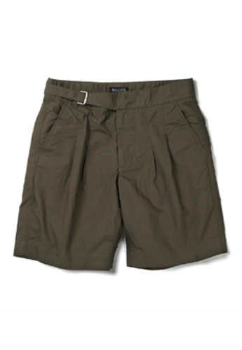 Ballute발루트 2 TUCK SINGLE GURKHA SHORTS (OLIVE)