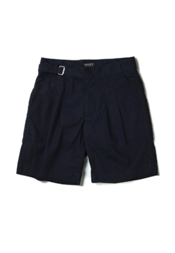 Ballute발루트 2 TUCK SINGLE GURKHA SHORTS (navy)
