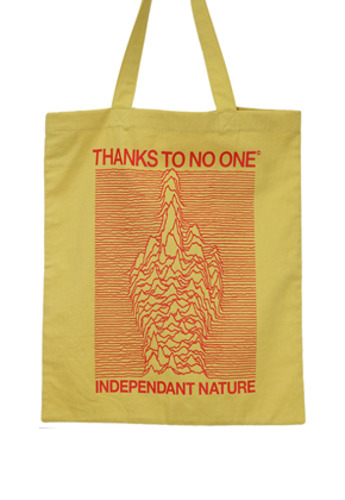 MPQ엠피큐 TTNO_FONT FRAME SHOPPER BAG (YL)