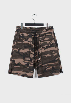 LE SENS DE르센스드 BAD JUDGED SHORTS PANTS CAMO