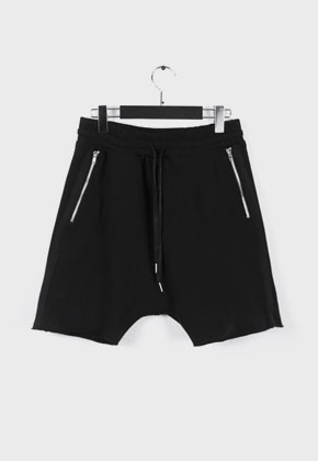 LE SENS DE르센스드 HIGH EFFECTS SHORTS PANTS BLACK
