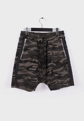 LE SENS DE르센스드 HIGH EFFECTS SHORTS PANTS CAMO