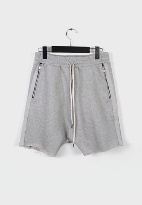 LE SENS DE르센스드 HIGH EFFECTS SHORTS PANTS GRAY