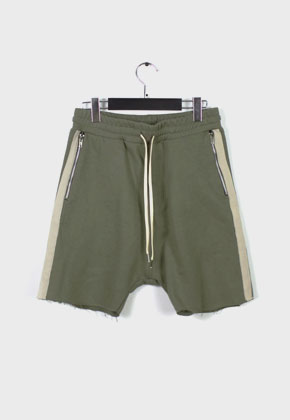 LE SENS DE르센스드 HIGH EFFECTS SHORTS PANTS KHAKI