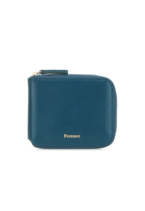 Fennec페넥 Mini Zipper Wallet  Seagreen