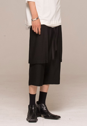 Noirer노이어 MEN Summer Wool Trench Pants