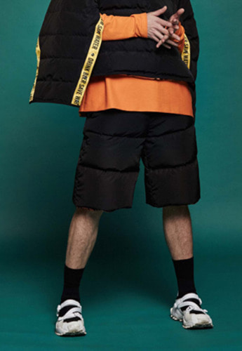 Drink Beer Save Water드링크비어세이브워터 Reversible Goose-Down Shorts