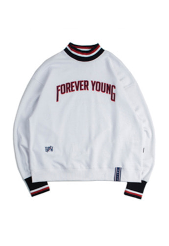 Romantic Crown로맨틱크라운 FY Turtle Sweat Shirt_White