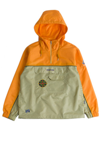 Romantic Crown로맨틱크라운 Piping Anorak_Mustard